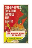 "The Giant Ymir, 1957, ""20 Million Miles To Earth"" Directed by Nathan Juran Giclee Print"