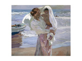Just Out of the Sea, 1915 Giclee Print by Joaquin Sorolla