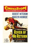 River of No Return, 1954, Directed by Otto Preminger Giclee Print
