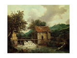 Two Watermills, 1650-1652 Giclee Print by Jacob Ruysdael