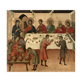 Maestà - Public Life of Christ: the Wedding Feast of Cana, 1308-1311 Giclee Print by Duccio Di buoninsegna