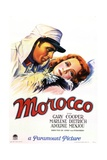 "Amy Jolly, 1930 ""Morocco"" Directed by Josef Von Sternberg Giclee Print"