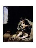 Young Beggar, 1645 Giclee Print by Bartolome Esteban Murillo