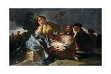 The Date, 1777-1780, Spanish School Giclee Print by Francisco De Goya