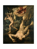 The Death of Abe', After 1539, Flemish School Giclee Print by Michiel Coxie