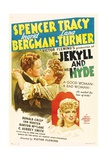 Dr. Jekyll And Mr. Hyde, 1941, Directed by Victor Fleming Giclée-tryk