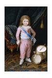 Un Infante Con Tambor Y Pandereta, 1798-1802, Spanish School Giclee Print by Antonio Carnicero