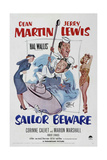 Sailor Beware, 1952, Directed by Hal Walker Giclee Print