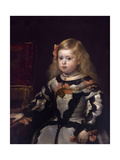 Infanta Margaret of Austria, Philip Iv's Daughter Giclee Print by Diego Velázquez