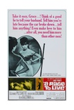 """John O'hara's a Rage To Live, 1965, """"A Rage To Live"""" Directed by Walter J. Grauman Giclee Print"""