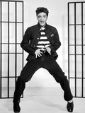 "Elvis Presley. ""Jailhouse Rock"" 1957, Directed by Richard Thorpe Fotografisk tryk"