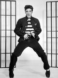 """Elvis Presley. """"Jailhouse Rock"""" 1957, Directed by Richard Thorpe Fotodruck"""