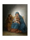 The Holy Family, Ca. 1787, Spanish School Giclee Print by Francisco De Goya