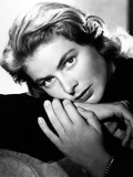 "Ingrid Bergman. ""Notorious"" 1946, Directed by Alfred Hitchcock Papier Photo"
