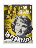 "Intermezzo, 1939, ""Intermezzo: a Love Story"" Directed by Gregory Ratoff Giclee Print"