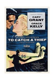 """Alfred Hitchcock's To Catch a Thief, 1955, """"To Catch a Thief"""" Directed by Alfred Hitchcock Reproduction procédé giclée"""