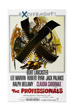 The Professionals, 1966, Directed by Richard Brooks Giclee Print