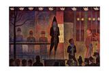 Circus Sideshow, 1888 Gicléedruk van Georges Seurat