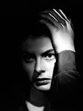 "Ingrid Bergman. ""Alfred Hitchcock's Spellbound"" 1945, ""Spellbound"" Directed by Alfred Hitchcock Fotografisk tryk"