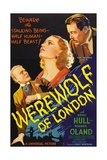 The Werewolf of London, 1935, Directed by Stuart Walker Impressão giclée