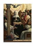 Pentecost, 1514-1519, Spanish-flemish School Giclee Print by Juan De flandes