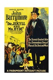 Dr. Jekyll And Mr. Hyde, 1920, Directed by John S. Robertson Giclee Print