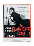 "The Four Hundred Blows, 1959, ""Les Quatre Cents Coups"" Directed by Francois Truffaut Giclee Print"