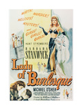 "Striptease Lady, 1943, ""Lady of Burlesque"" Directed by William A. Wellman Giclee Print"