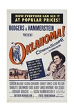 Oklahoma!, 1955, Directed by Fred Zinnemann Giclee Print