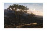 A Guadarrama Landscape, 1858, Spanish School Giclee Print by Martin Rico
