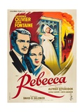 Rebecca, 1940, Directed by Alfred Hitchcock Giclee Print