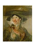 The Shrimp Girl, Ca. 1740-1745 Giclee Print by William Hogarth