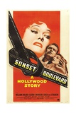 "Sunset Boulevard, 1950 ""Sunset Blvd."" Directed by Billy Wilder Giclee Print"