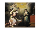 The Annunciation, Ca. 1650, Spanish School Giclee Print by Bartolome Esteban Murillo