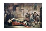 Muete De Daoiz Y Velarde En 1808 Giclee Print by Jose Nin y tudo