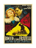 "Rocco And His Brothers, 1960 ""Rocco E I Suoi Fratelli"" Directed by Luchino Visconti Giclee Print"