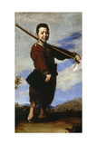 The Crippled Boy: Club-foot, 1642, Spanish School Giclee Print by Jusepe De rivera