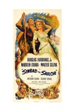 Sinbad the Sailor, 1947, Directed by Richard Wallace Giclee Print
