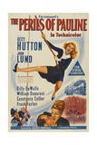 "Betty Hutton. ""The Perils of Pauline"" 1947, Directed by George Marshall Giclee Print"