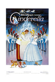 Cinderella, 1950, Directed by Clyde Geronimi, Wilfred Jackson, Hamilton Luske Lámina giclée