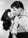 "Burt Lancaster, Ava Gardner ""The Killers"",l 1946, Directed by Robert Siodmak Papier Photo"