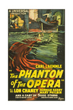 The Phantom of the Opera, 1925, Directed by Rupert Julian Gicleetryck