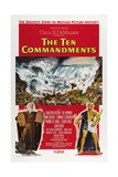 The Ten Commandments, 1956, Directed by Cecil B. Demille Giclee Print