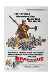 "Spartacus: Rebel Against Rome, 1960 ""Spartacus"" Directed by Stanley Kubrick Reproduction procédé giclée"
