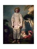 Gilles, Ca. 1718-19 Giclee Print by Antoine Watteau