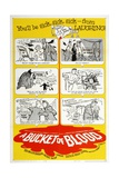 "The Living Dead, 1959, ""A Bucket of Blood"" Directed by Roger Corman Giclee Print"