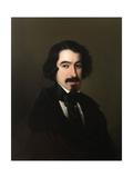 Jose De Espronceda, 1842-1846, Spanish School Giclee Print by Antonio Maria Esquivel