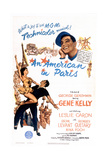 An American In Paris, 1951, Directed by Vincente Minnelli Gicléetryck