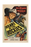 Heart of the Rockies, 1951, Directed by William Witney Giclee Print