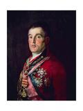 The Duke of Wellington, 1812, Spanish School Giclee Print by Francisco De Goya